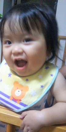 孫1歳5ヶ月