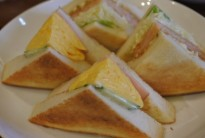 海老カツトースト&オムレツトースト
